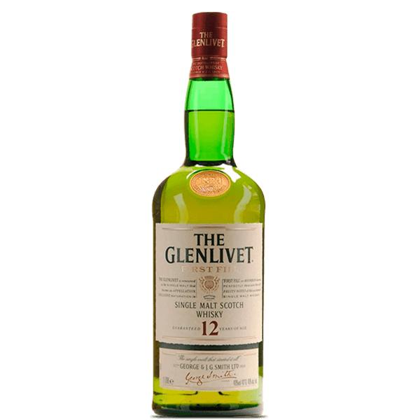 The Glenlivet Single Malt Scotch Whisky 12 Years 750ml