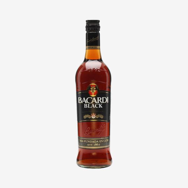 Bacardi Black Premium Crafted Rum