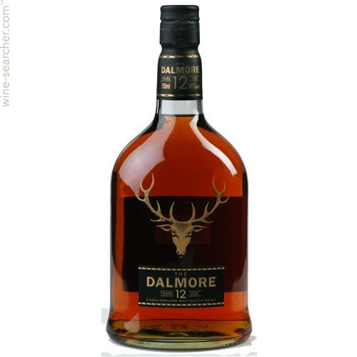 The Dalmore 12 Years Scotch Whiskey
