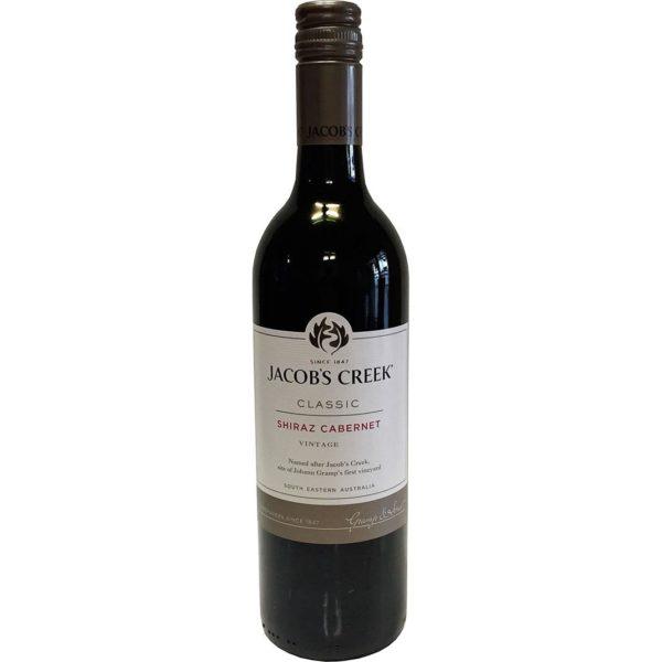 Jacob's Creek Shiraz Cabernet Wine