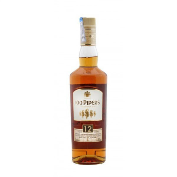 100 Pipers 12 years Scotch Whiskey