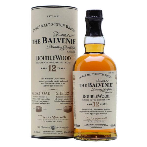 Balvenie 12 Double Wood Single Malt Whisky 700ML